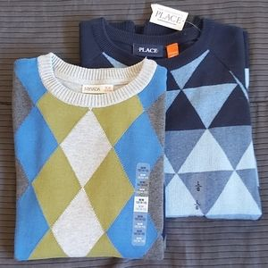 NWT 2 Boys Sweaters The Children's Place Nevada